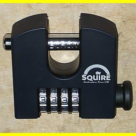 Squire Vorhängeschloss SHCB65 mit 4 Zahlen - Breite 69 mm / Bügel 11 mm