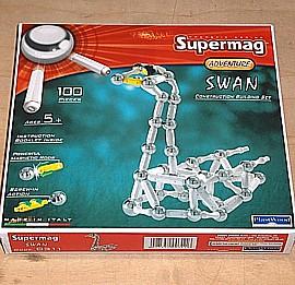 Supermag Adventure - Schwan - 100 Teile
