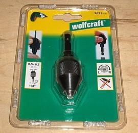 Wolfcraft Bohrfutter 2625000 für Stabschrauber - Ixo o.ä.