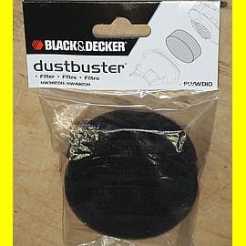 Black & Decker FLVWD10 Filter für Nass-Trocken-Sauger NW3620N und NW4820N