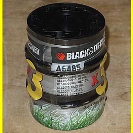3 Stück 10 m x 1,5 mm Fadenspulen Black & Decker A6485 für GL280 - GL301 - GL340 - GL530 + +