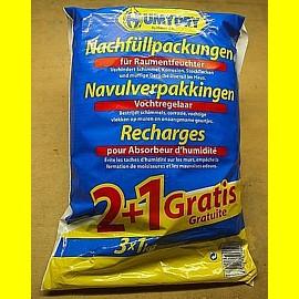 Humydry Raumentfeuchter Nachfüllgranulat 3 x 1 kg