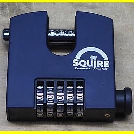Squire Vorhängeschloss SHCB75 mit 5 Zahlen - Breite 78 mm / Bügel 13 mm