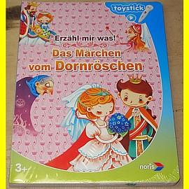 noris toystick Buch - Das Märchen von Dornröschen - NEU !