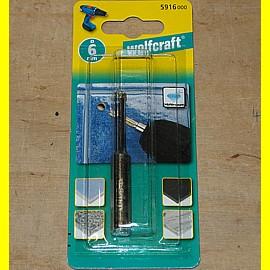 wolfcraft 5916000 - Diamant-Bohrer 6 mm Ceramic mit 10 mm Schaft für Fliesen + ...