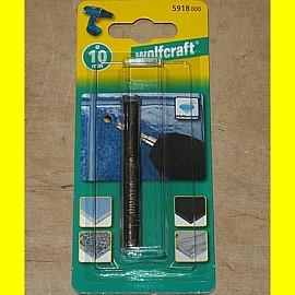 wolfcraft 5918000 - Diamant-Bohrer 10 mm Ceramic mit 10 mm Schaft für Fliesen + ...