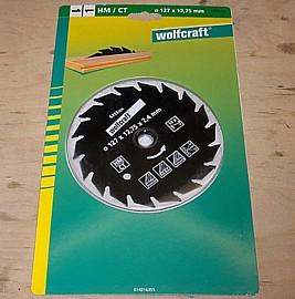 HM Kreissägeblatt 127 x 12,75 mm - Wolfcraft 6355000