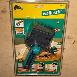 wolfcraft 4640000 Meisterdübler Dübelhilfe